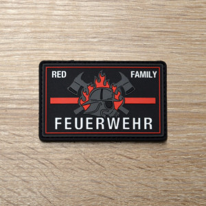 3D Patch | Feuerwehr red line familiy