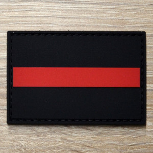 3D Patch | red line