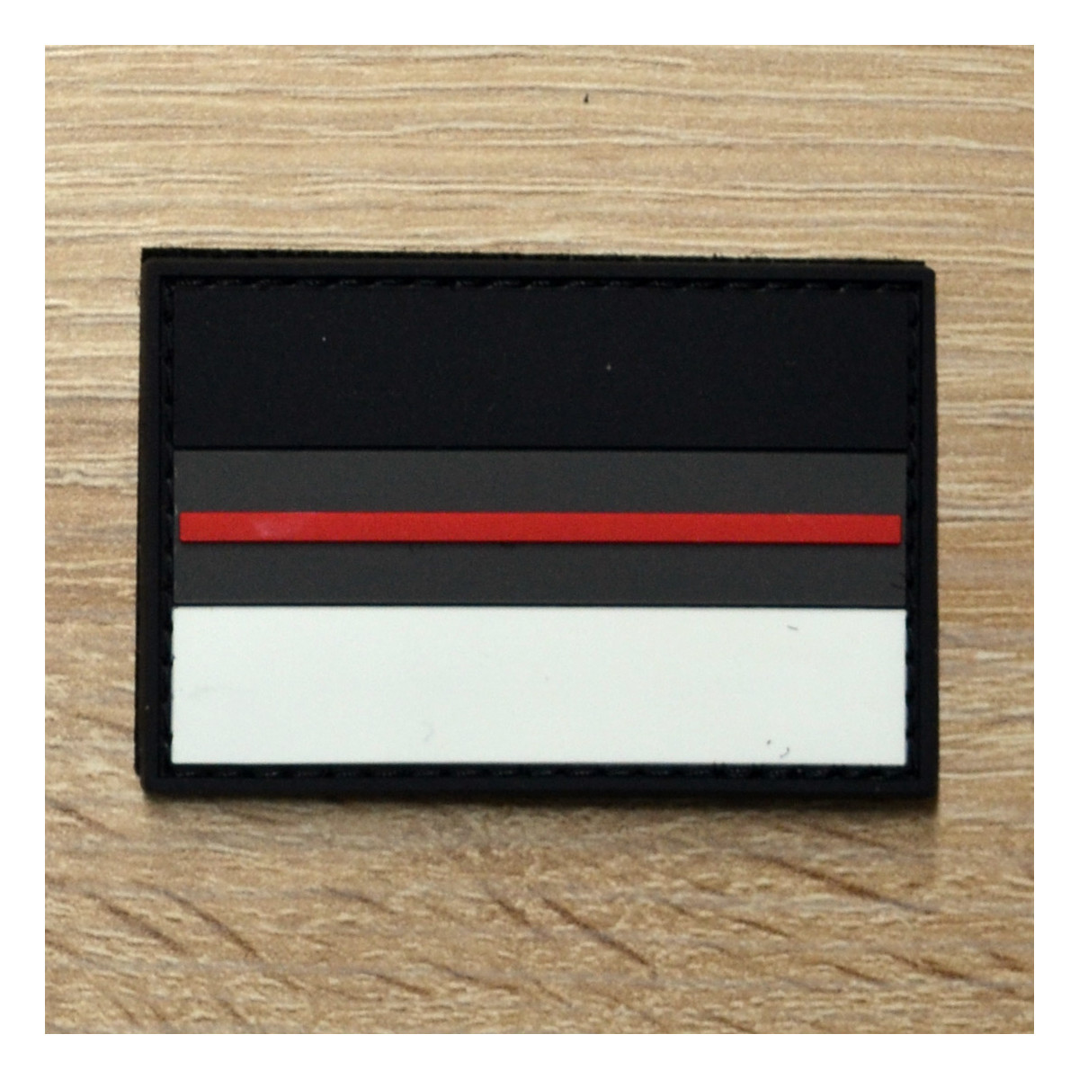 3D Patch | red line Deutschland dark camo