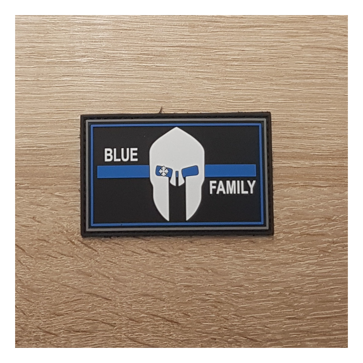 3D Patch | Polizei blue line family
