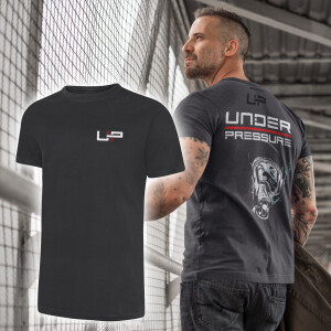 T-Shirt Männer | under pressure 2side L