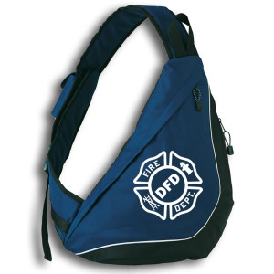Sling Pack | Feuerwehr Fire Department mit Ortsname Signet